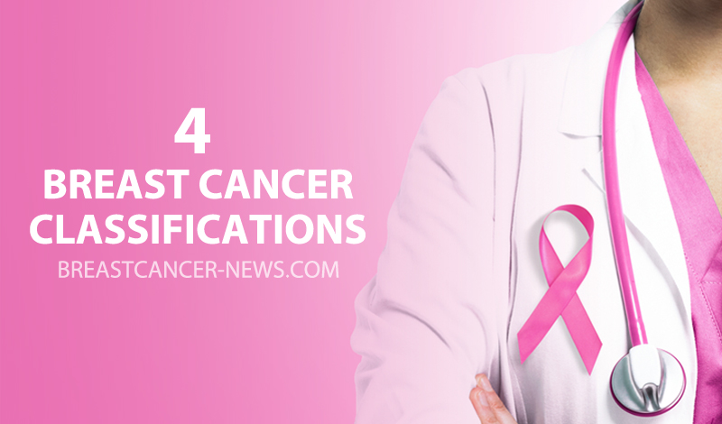 4 breast cancer classifications