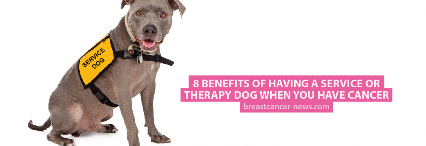 8 Benefits of Having a Service or Therapy Dog When You Have Cancer